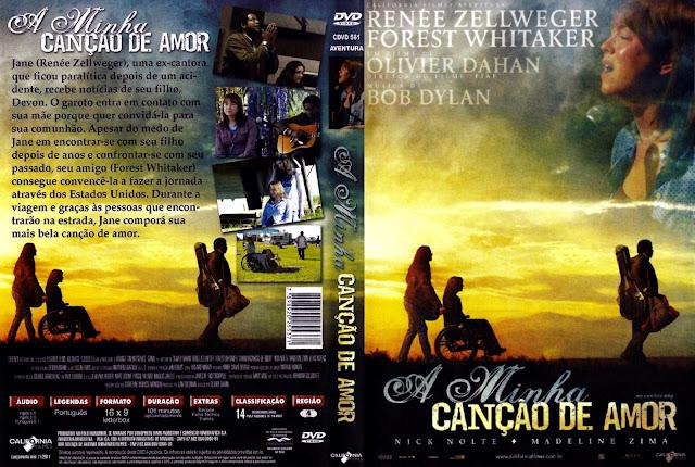 Capa DVD A Minha Canção de Amor