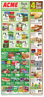 ⭐ Acme Ad 3/22/19 ✅ Acme Weekly Ad March 22 2019