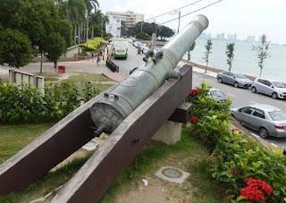 Tempat Wisata Sejarah di Penang : Fort Cornwallis