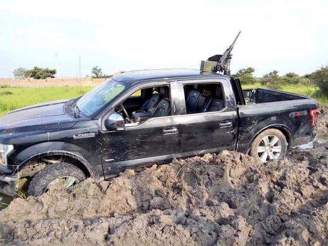 Imágenes del enfrentamiento entre militares y sicarios en límites de Guanajuato y Jalisco.