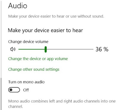 Cara mengaktifkan Audio Mono Pada Windows  Cara mengaktifkan Audio Mono Pada Windows 10