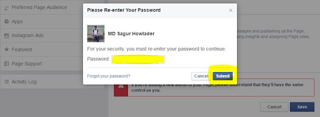 How to Add Admin to Facebook Page 2017 with Images (Re-enter your Password)