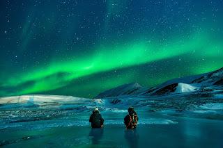 Aurora-Boreal-Neve