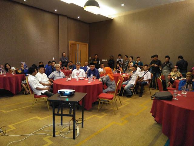 Syamsul Bahri Gelar Rapat Koordinasi Dengan DPD PAN Muara Enim