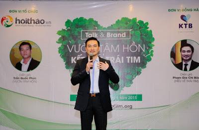 Diễn giả Phạm Gia Chi Bảo - hiểu về trái tim