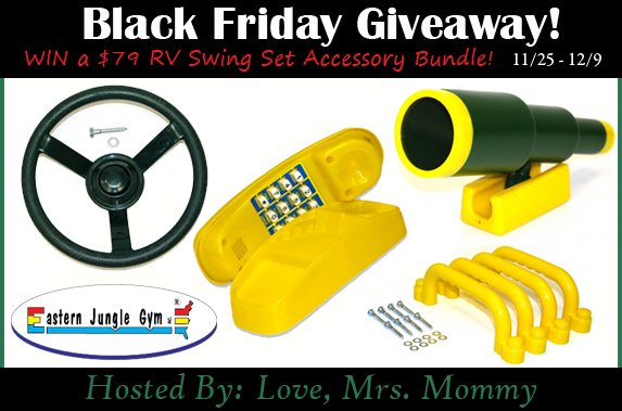 Eastern Jungle Gym Swing Set Accessory Bundle Giveaway