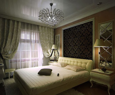 dekorasi kamar tidur penuh seni