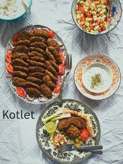 Iranian Meat Patties