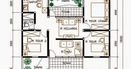Desain Rumah Type 80 3 Kamar Tidur - Sekitar Rumah