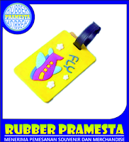 LUGGAGE TAG RUBBER | CUSTOM LUGGAGE TAG | CUSTOM LUGGAGE TAG BAHAN KARET