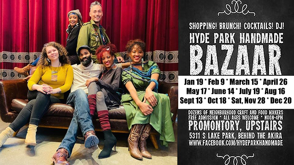 Sunday March 15th: Hyde Park Handmade Artisan Bazaar @ The Promontory