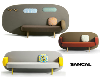 Float Sofa by Karim Rashid for Sancal