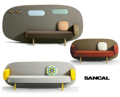 Float Sofa by Karim Rashid for Sancal