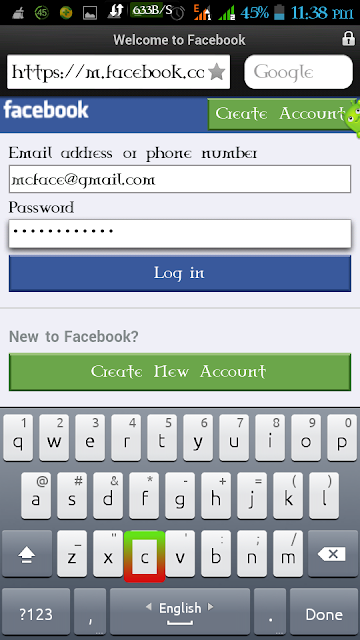 Hack Your Friends Fb Account Via Opera Mini ~ NatokHour