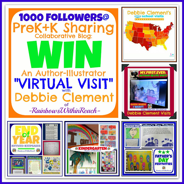 "photo of: WIN an Author-Illustrator ""Virtual Visit"" for your Classroom! at PreK+K Sharing"