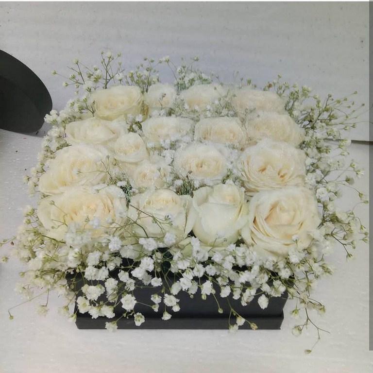 Karangan Bunga Box 016