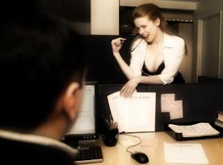 Fantasía y sexo en la oficina