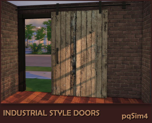 Industrial Style Decor Doors. Puerta 1