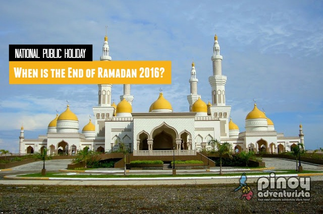 When is the End of Ramadan Holiday 2016 in the Philippines Dates