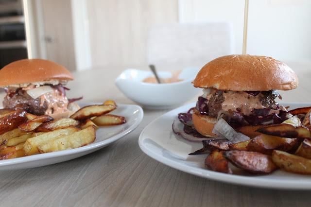 gousto box review Double Chipotle Burger
