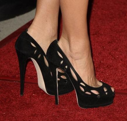 Prada Black Slip On Shoes Size
