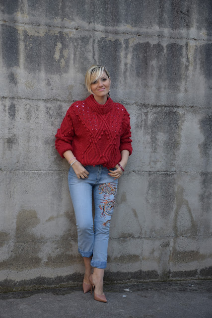 red outfit how to wear red how to combine red march outfit mariafelicia magno fashion blogger colorblockby felym fashion bloggers italy italian fashion bloggers