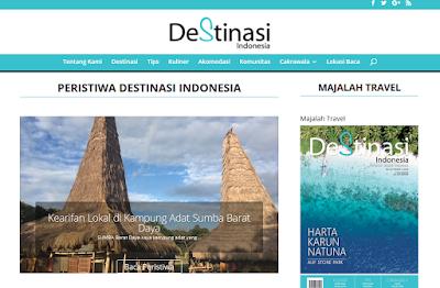 Majalah online destinasi travel indonesia