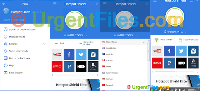 Hotspot-Shield recent version latest