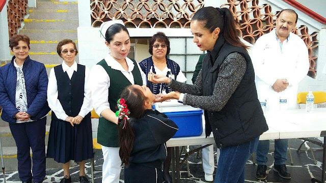 Asiste Lili Campos a inauguración de la 1ª. Semana Nacional de Salud