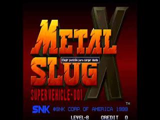 Metal Slug X Game Free Download
