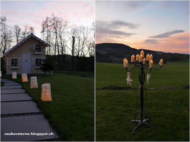 Kinderspielhaus, Adventszauber, Lichtertüten