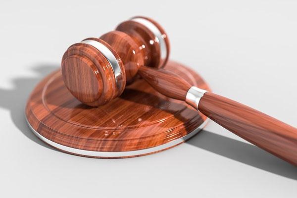 martelo de um juiz representando autoridade