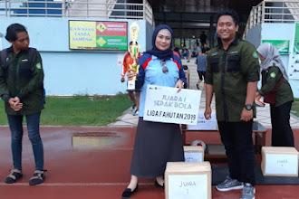 Alumni Fahutan Unmul Juara 1 Liga Fahutan Unmul tahun 2019