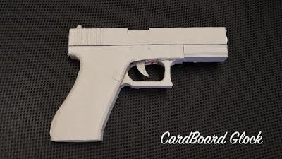 Paper pistol gun