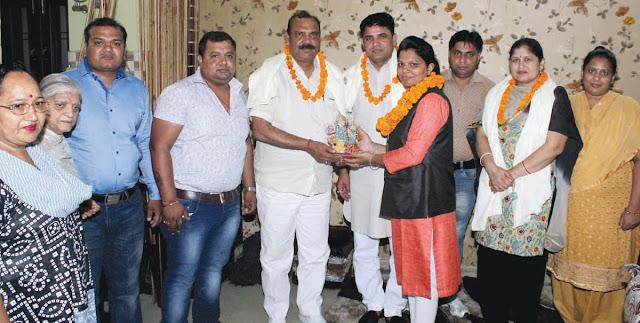 pooja-varma-bjp-leader-faridabad