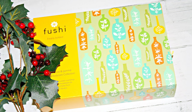 Fushi - Rose & Jasmine Complete Body Care Collection.