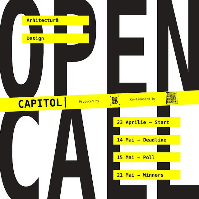 OPEN CALL CAPITOL Arhitectură + Design