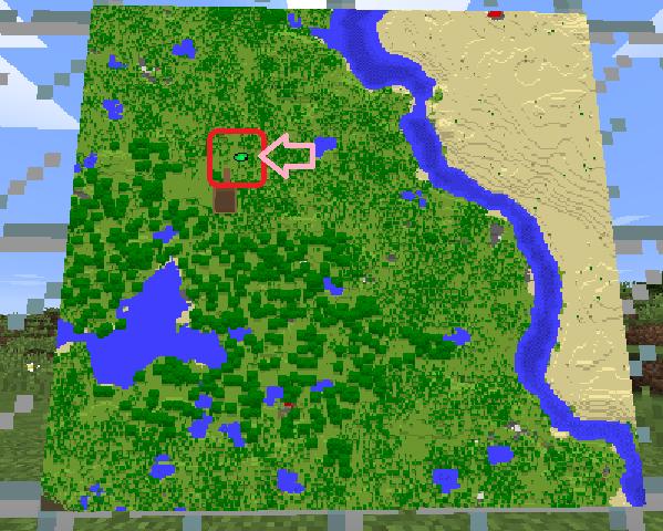 マイクラ 地図