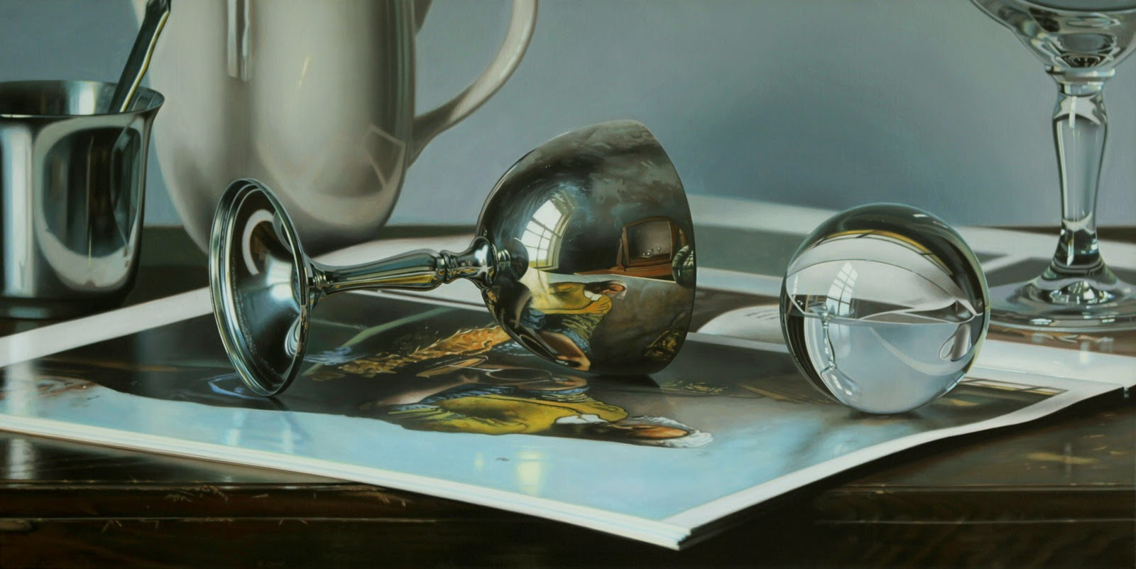 11-The-Sphinx-of-Delft-Photo-Realistic-Reflection-Paintings-www-designstack-co