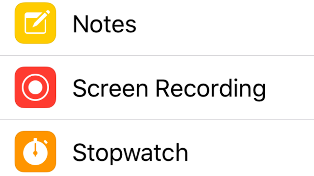 how to do a screen recording on iPhone