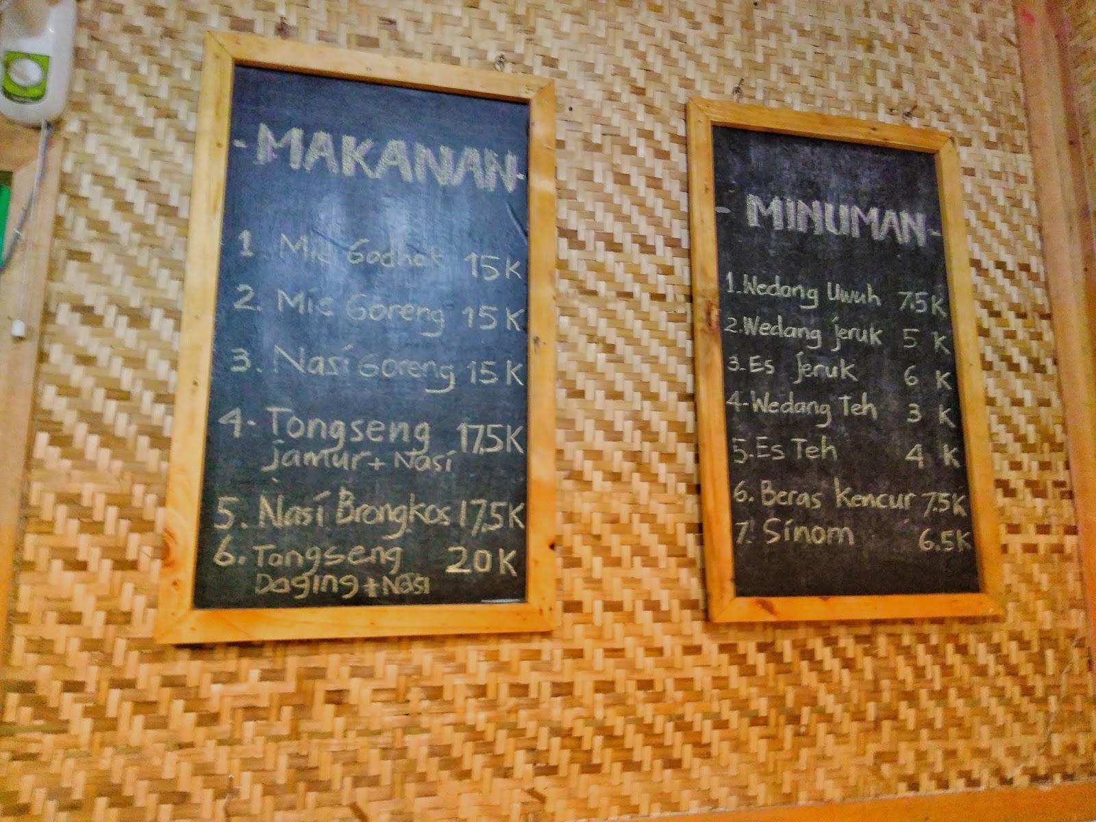 menu dan harga Menyantap Bakmi Jogja Di Surabaya - Bakmi Jogja Daridjo