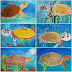Sea Turtle Collages