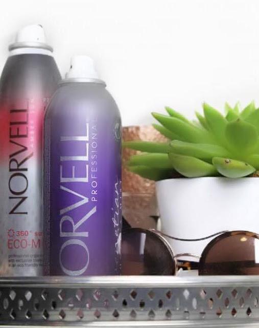 Norvell tanning spray