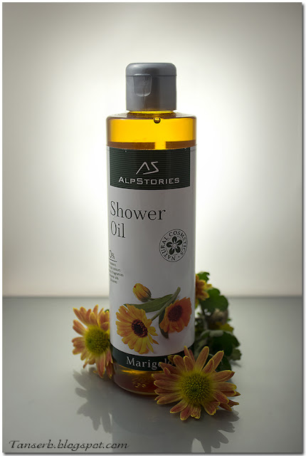 Масло для душа Календула The shower oil Marigold by AlpStories