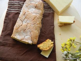 Ψωμί χωρίς γλουτένη με τρία αλεύρια