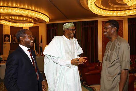 buhari meets pastor adeboye at aso rock