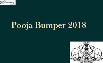 Pooja Bumper 2018 Results