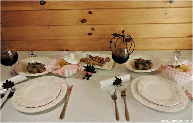 Mesa de Nuestra Cena de Acción de Gracias 2016