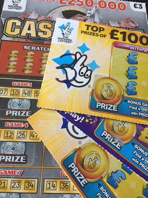 National Lottery Scratch Cards From April 2019