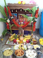 Lord Ganesha  Puja  at my  home 2016